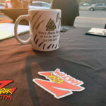 "World famous Z-Rock ""doodle"" mug at Betty Cakes and Coffee in Oroville CA for Wake the Buc Up on 106.7 Z-Rock October 1st 2020"