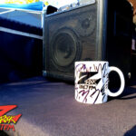 "World famous Z-Rock ""doodle"" mug at Morning Thunder Cafe in Chico California for Wake the Buc Up on 106.7 Z-Rock October 22nd 2020"