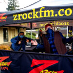 """Tim Buc Moore with loyal """"Buc Heads"""" at Chico Creek Coffee for Wake the Buc Up on 106.7 Z-Rock December 17th 2020"""