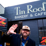 Tim Buc Moore live at Tin Roof Bakery & Cafe in Chico CA for Wake the Buc Up on 106.7 Z-Rock February 11th 2021