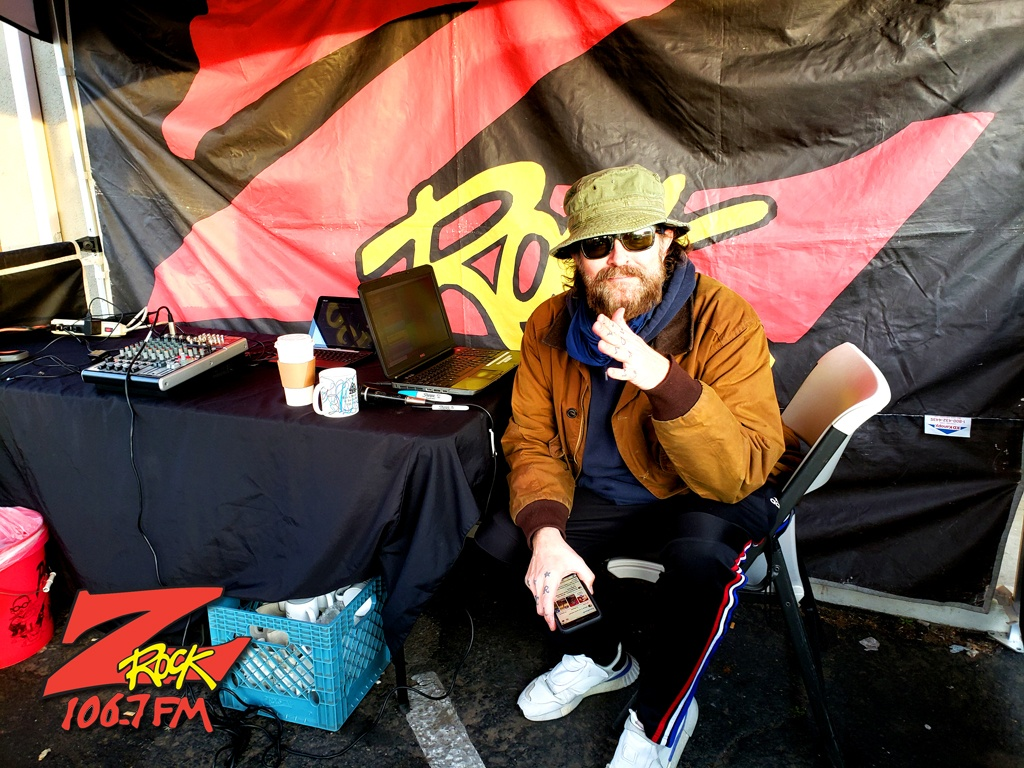 Tim Buc Moore at Betty Cakes & Coffee in Oroville CA for Wake the Buc Up on 106.7 Z-Rock February 18th 2021