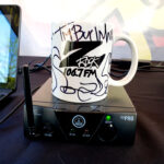 """World famous Z-Rock """"Doodle"""" mug customized by Tim Buc Moore at Beatniks in Chico California for Wake the Buc Up on 106.7 Z-Rock April 1s 2021"""