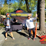 Tim Buc Moore with a loyal Buc-Head at Beatniks in Chico CA for Wake the Buc Up on 106.7 Z-Rock April 1st 2021