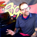 Tim Buc Moore broadcasting live at Lovely Layers Cakery in Chico CA for Wake the Buc Up on 106.7 Z-Rock June 3rd 2021