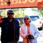 Tim Buc Moore with a loyal Buc-Head at Hilltop Cafe in Magalia CA for Wake the Buc Up on 106.7 Z-Rock June 10th 2021
